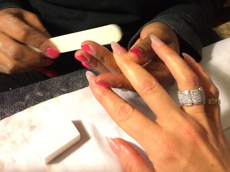 Holiday Stiletto Nails for New Year\'s Eve! | Real Jane