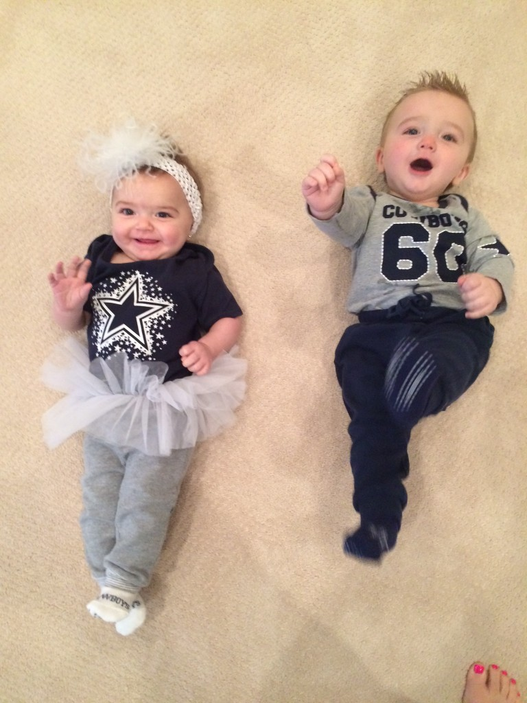 cowboys party twins