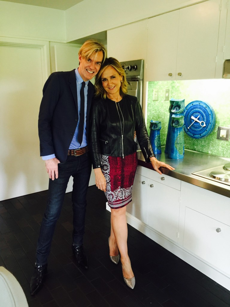 Jane McGarry and Neiman Marcus Senior Vice-President and Fashion Director Ken Downing