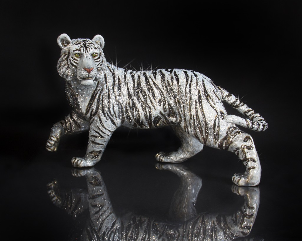 Jay Strongwater Opal Tiger