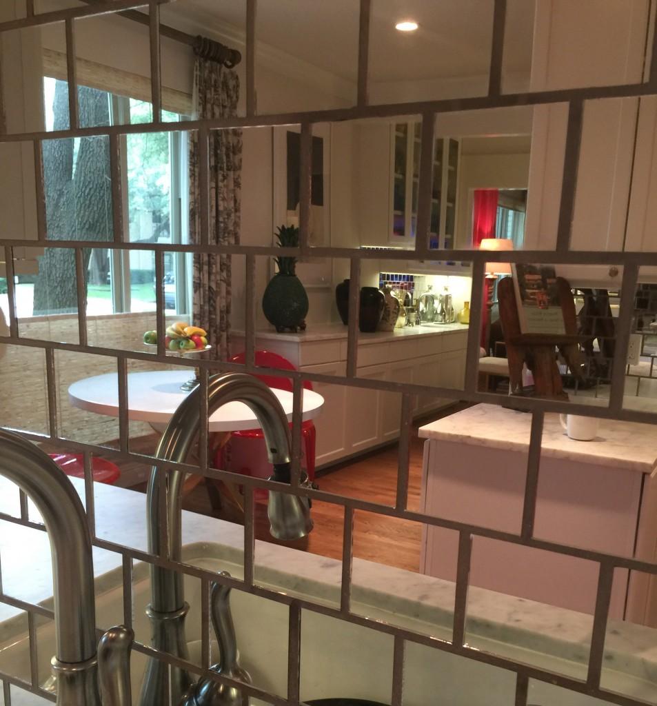 kitchen mirror tile