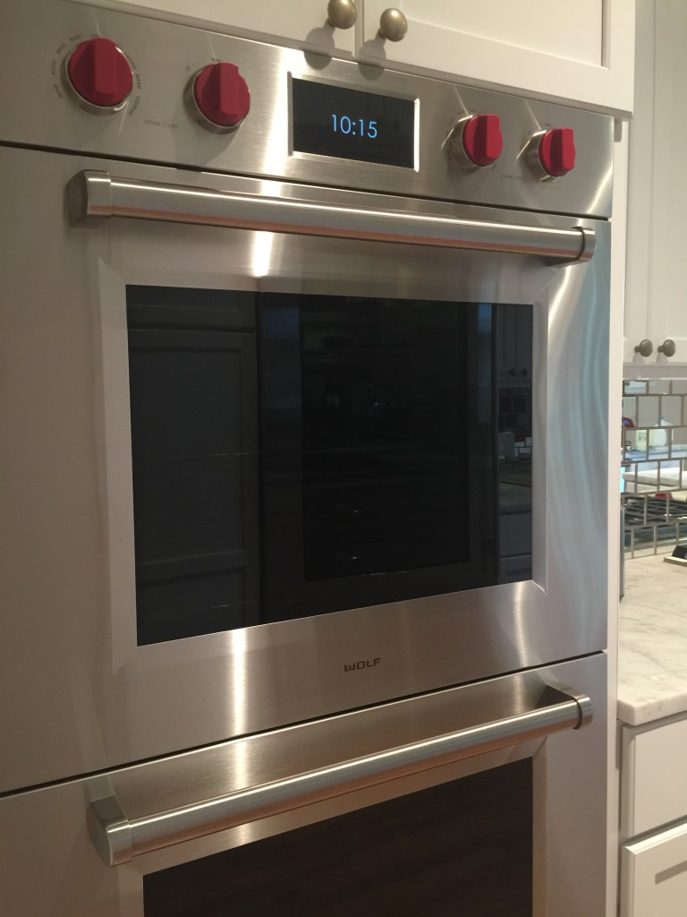 kitchen wolf double oven