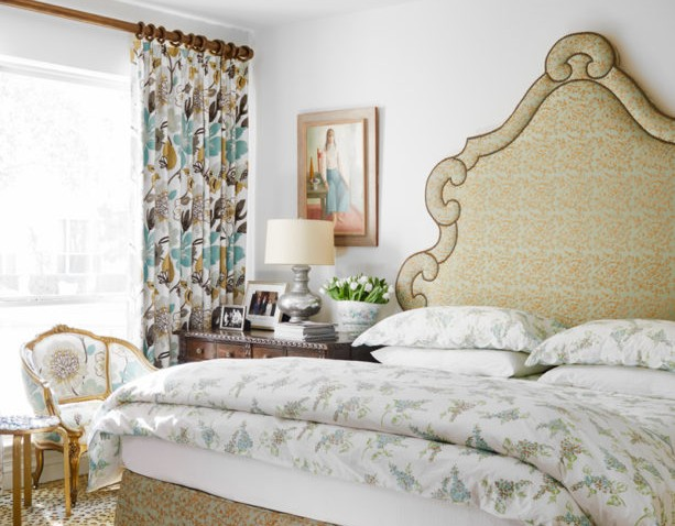 D. Porthault bed linens in Jane McGarry D Home magazine